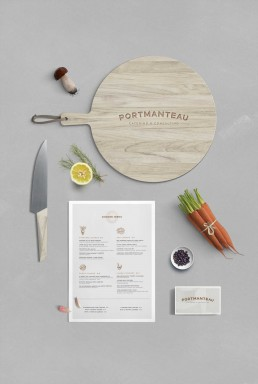 Pixelove Design: Projects –Portmanteau Catering & Consulting